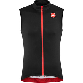 Castelli Entrata 3 FZ Sleeveless Jersey Herr light black